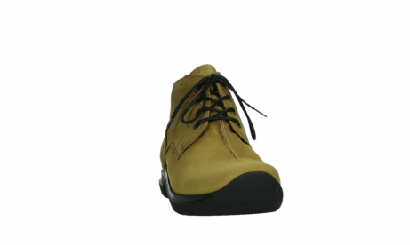 wolky ankle boots 06602 onani 11940 mustard nubuckleather_6
