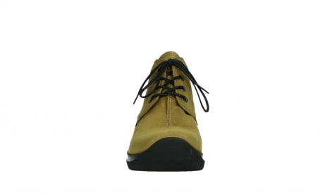 wolky ankle boots 06602 onani 11940 mustard nubuckleather_7