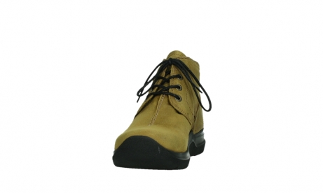 wolky ankle boots 06602 onani 11940 mustard nubuckleather_8