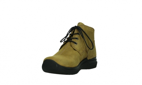wolky ankle boots 06602 onani 11940 mustard nubuckleather_9