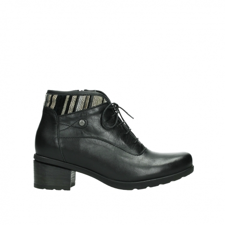 wolky ankle boots 07500 canton 29000 black leather