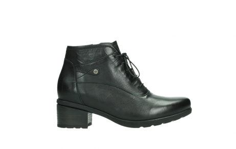 wolky ankle boots 07500 canton 29000 black leather_1