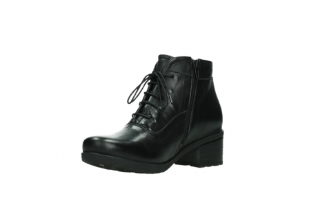 wolky ankle boots 07500 canton 29000 black leather_10