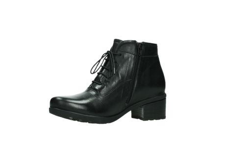 wolky ankle boots 07500 canton 29000 black leather_11