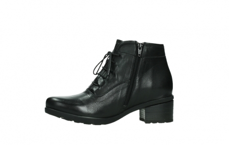 wolky ankle boots 07500 canton 29000 black leather_12