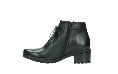 wolky ankle boots 07500 canton 29000 black leather_13