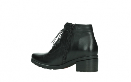 wolky ankle boots 07500 canton 29000 black leather_15