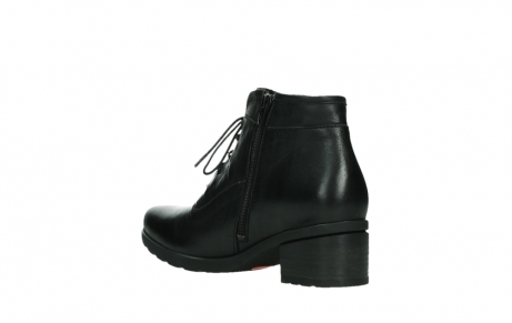 wolky ankle boots 07500 canton 29000 black leather_16