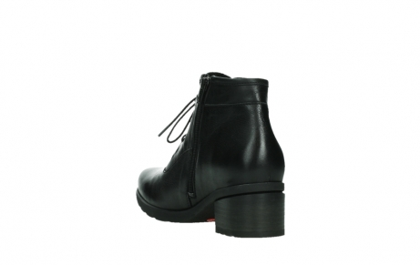 wolky ankle boots 07500 canton 29000 black leather_17
