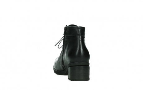 wolky ankle boots 07500 canton 29000 black leather_18