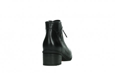 wolky ankle boots 07500 canton 29000 black leather_20