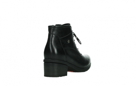 wolky ankle boots 07500 canton 29000 black leather_21
