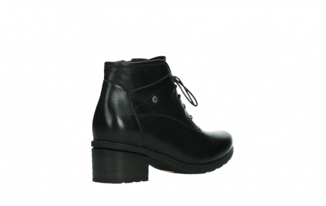 wolky ankle boots 07500 canton 29000 black leather_22