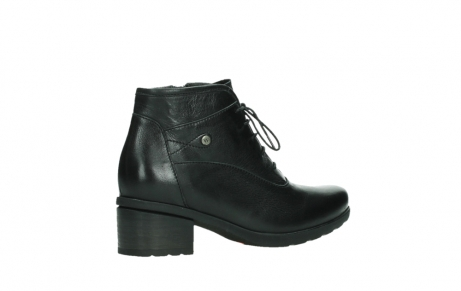 wolky ankle boots 07500 canton 29000 black leather_23