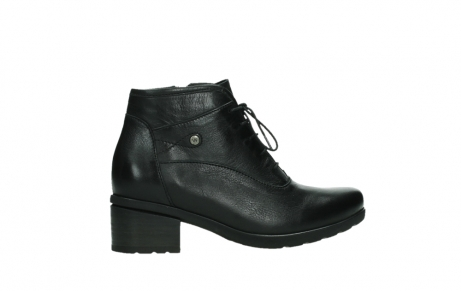 wolky ankle boots 07500 canton 29000 black leather_24