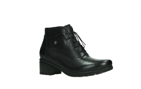 wolky ankle boots 07500 canton 29000 black leather_3