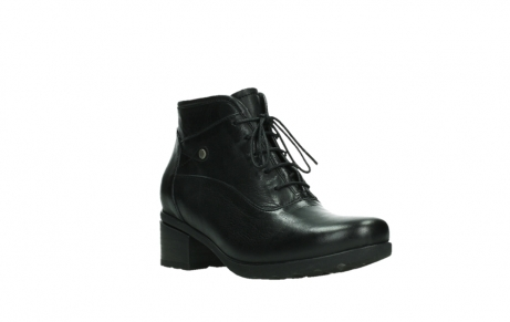 wolky ankle boots 07500 canton 29000 black leather_4