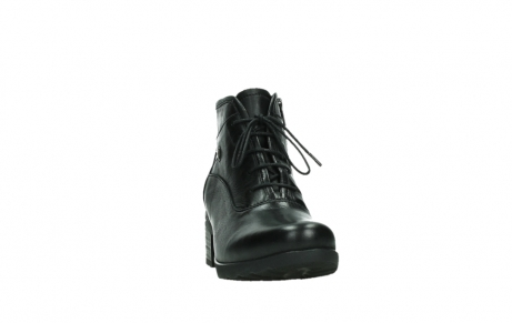 wolky ankle boots 07500 canton 29000 black leather_6