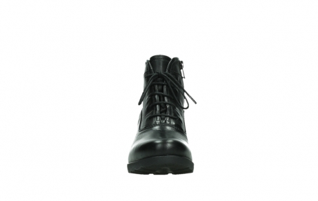 wolky ankle boots 07500 canton 29000 black leather_7