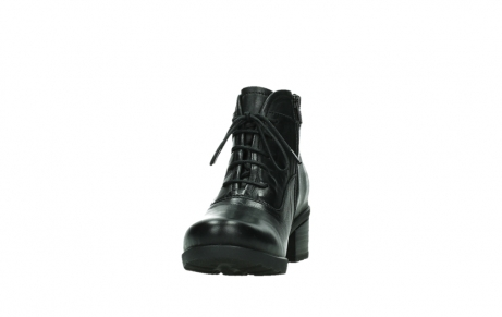 wolky ankle boots 07500 canton 29000 black leather_8