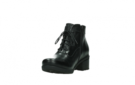 wolky ankle boots 07500 canton 29000 black leather_9