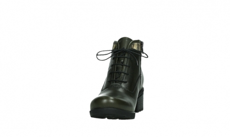 wolky ankle boots 07500 canton 29730 forestgreen leather_8