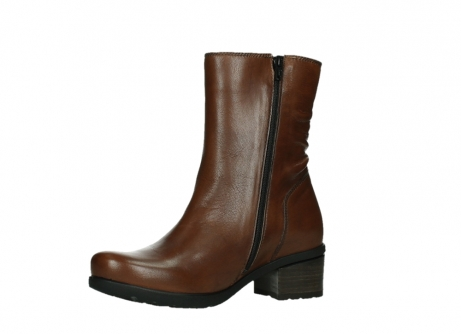 wolky ankle boots 07501 skytree 20430 cognac leather_11