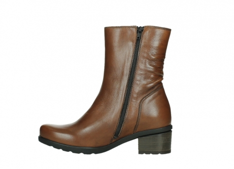 wolky ankle boots 07501 skytree 20430 cognac leather_13