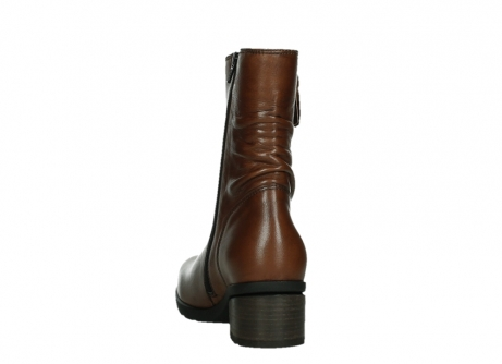 wolky ankle boots 07501 skytree 20430 cognac leather_18
