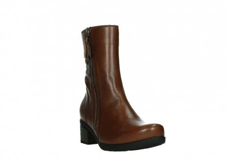 wolky ankle boots 07501 skytree 20430 cognac leather_5