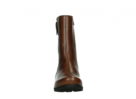 wolky ankle boots 07501 skytree 20430 cognac leather_7