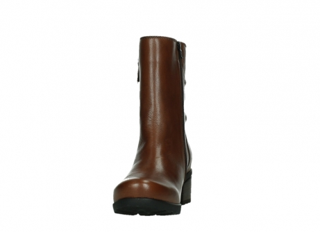 wolky ankle boots 07501 skytree 20430 cognac leather_8