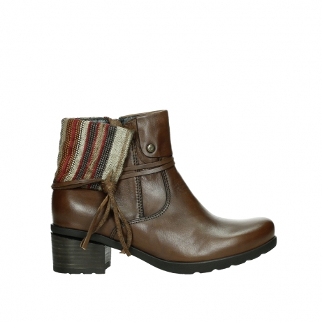 wolky ankle boots 07502 aspire 29430 cognac leather
