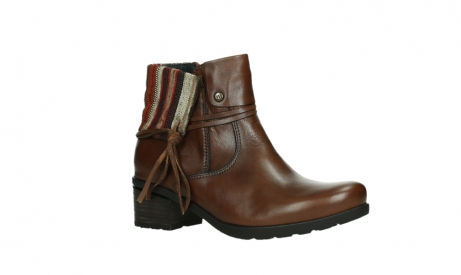 wolky ankle boots 07502 aspire 29430 cognac leather_3
