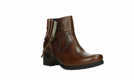 wolky ankle boots 07502 aspire 29430 cognac leather_4
