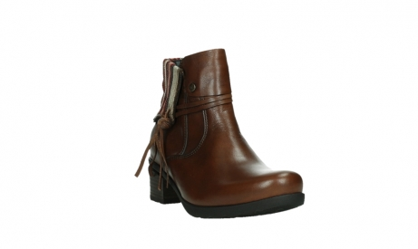 wolky ankle boots 07502 aspire 29430 cognac leather_5