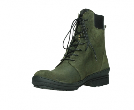wolky ankle boots 07640 partizan 45730 forestgreen suede_10
