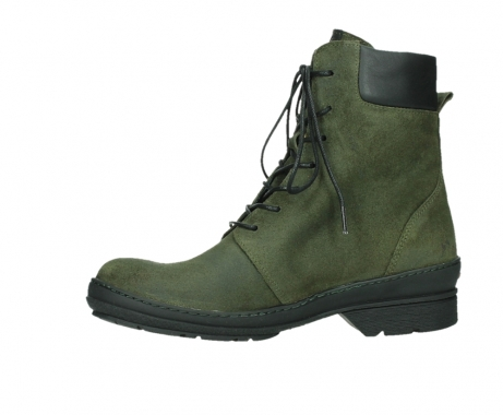 wolky ankle boots 07640 partizan 45730 forestgreen suede_12