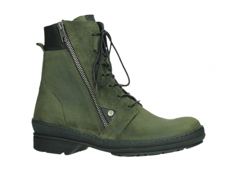 wolky ankle boots 07640 partizan 45730 forestgreen suede_2