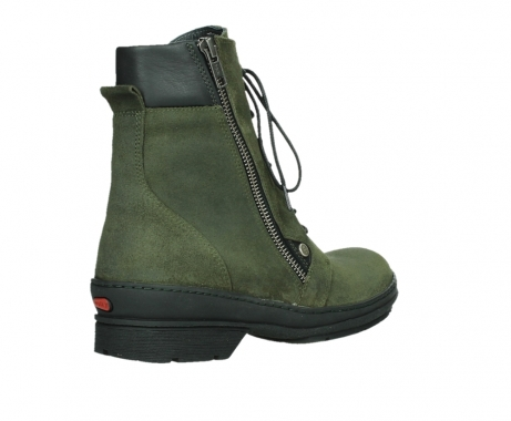 wolky ankle boots 07640 partizan 45730 forestgreen suede_22