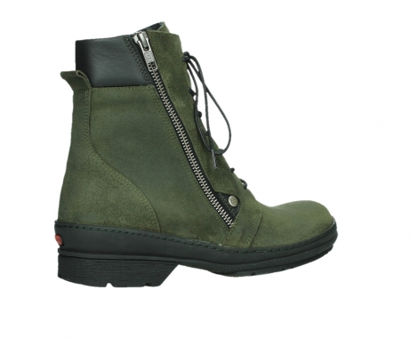 wolky ankle boots 07640 partizan 45730 forestgreen suede_23