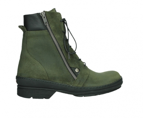 wolky ankle boots 07640 partizan 45730 forestgreen suede_24