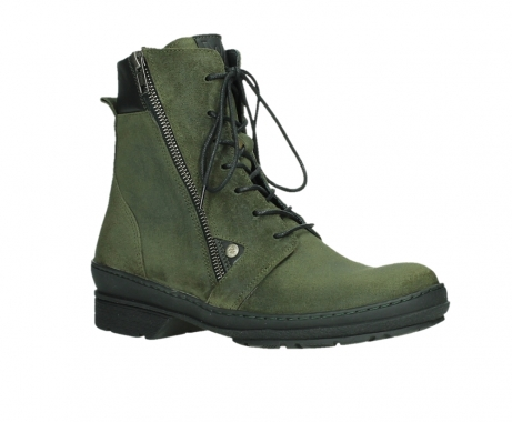 wolky ankle boots 07640 partizan 45730 forestgreen suede_3