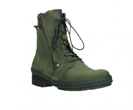 wolky ankle boots 07640 partizan 45730 forestgreen suede_4