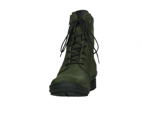 wolky ankle boots 07640 partizan 45730 forestgreen suede_8