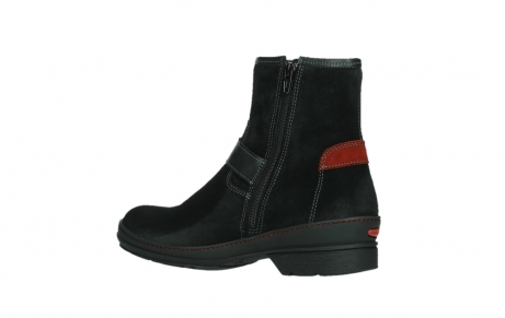 wolky ankle boots 07641 nitra 45000 black suede_15