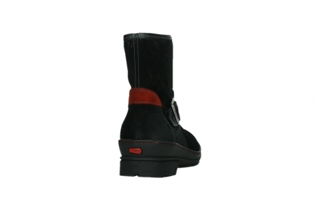 wolky ankle boots 07641 nitra 45000 black suede_20
