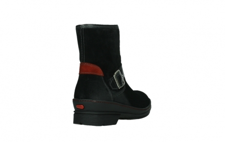 wolky ankle boots 07641 nitra 45000 black suede_21