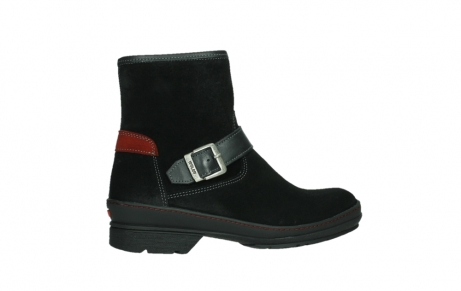 wolky ankle boots 07641 nitra 45000 black suede_24