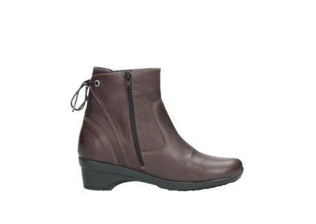 wolky ankle boots 07658 minnesota 10620 mottled metallic burgundy leather_13